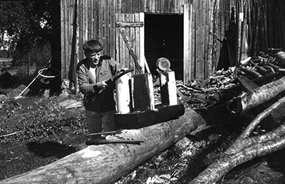 Kain Tapper. Saarijärven museon kuva-arkisto, kuvaaja Marko Tapper.