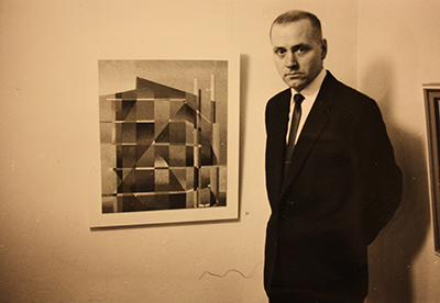 Veikko Koskinen. Keuruun museon kuva-arkisto, kuvaaja tuntematon.