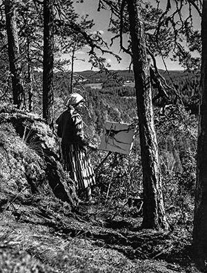Kaarina Katainen. Keski-Suomen museon kuva-arkisto, kuvaaja Juhani Raitala.