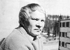 Oiva Syyrakki Jyväskylän taiteilijaseuran arkisto, kuvaaja tuntematon